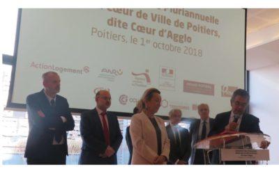 Poitiers. Une convention pour Coeur d'agglo 2