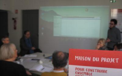Présentation du projet «La caravane à souvenirs» au conseil citoyen et habitants du quartier des Couronneries