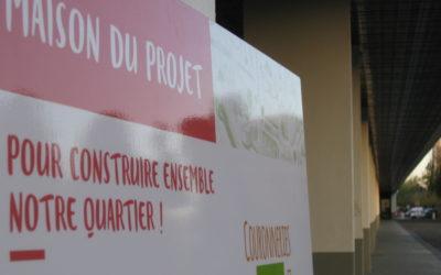 A la rencontre des habitants : la Maison du projet sur la place de Bretagne