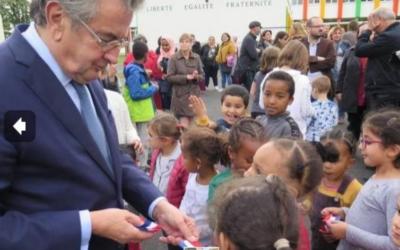 Le groupe scolaire Perrault inauguré